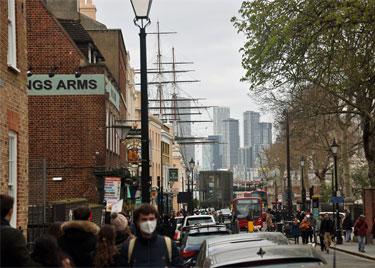 King William Walk, Greenwich town centre